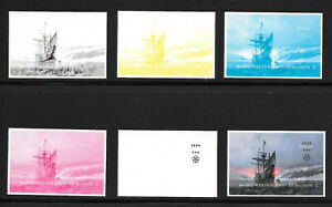 MAYFLOWER-400th-Anniversary-Limited-Edition-COLOR-PROOFS-singles-set-SOLD-OUT