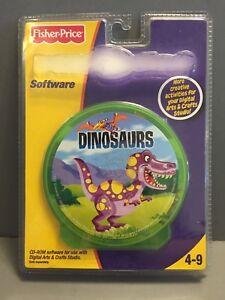 Fisher-Price-Dinosaurs-Digital-Arts-amp-Crafts-Studio-CD-ROM-Software