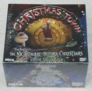 THE NIGHTMARE BEFORE CHRISTMAS TCG 36 PACK BOX CHRISTMAS TOWN + ...