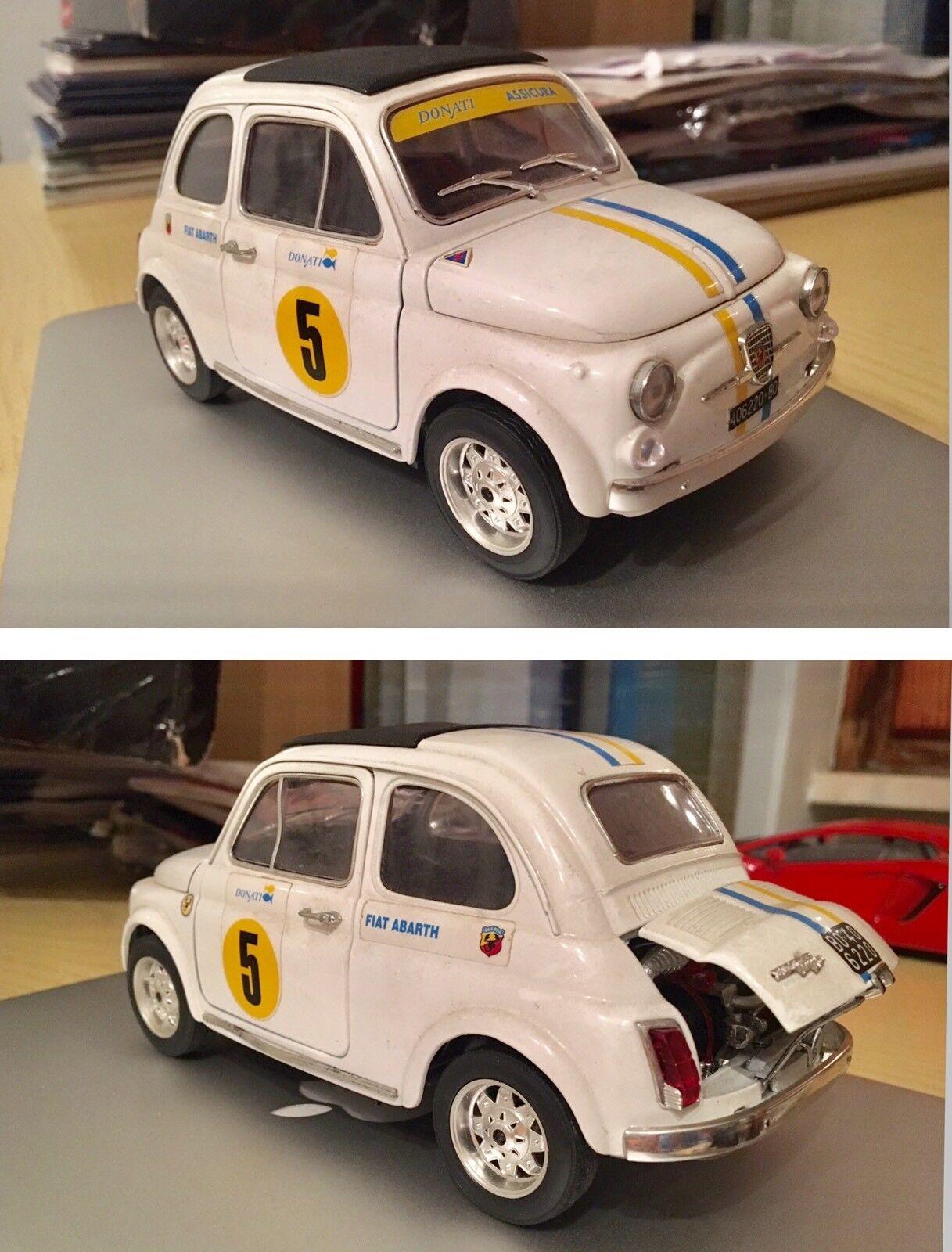 Fiat 500 Abarth 595 695 Bburago