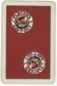 Playing-Cards-Single-Card-Old-PLAYERS-Cigarettes-Advertising-Royal-Navy-Sailor-2