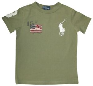 RALPH-LAUREN-POLO-RL-MILITARY-OLIVE-BIG-PONY-USA-FLAG-PATCH-T-SHIRT-KIDS-BOYS-4