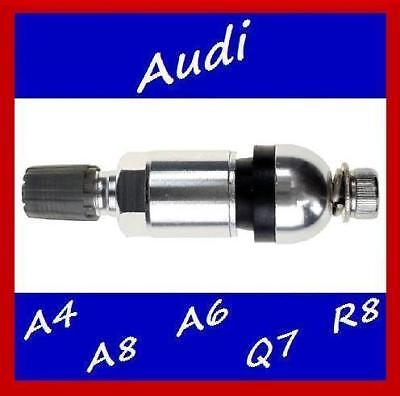 4 x Sensor de Presión de Neumáticos Kit de reparación de Vástago de Válvula Tpms BMW Audi Mercedes Skoda Mini