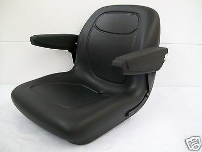 BLACK SEAT FIT KUBOTA L2800,L3400,L4400,MX4700,MX5100,MX5000 COMPACT TRACTOR #OU