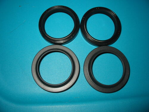 NEW SUZUKI 99-02 SV650 FORK SEAL AND WIPERS SV650S DUST BOOTS