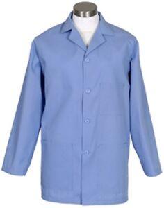 Nurse Medical,Dental Fame Green K73 Male Counter Coat L//S Smock Pharma,Vet