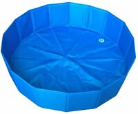 Swimming Pool Dog Pet Pool Tub Splash Bathing Large Summer Portable & Foldable