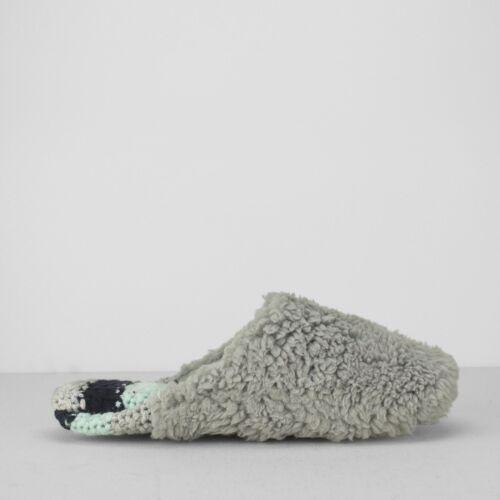 Dearfoams SAMIE Womens Ladies Soft Fluffy Pile Memory Foam Slip On Mule Slippers