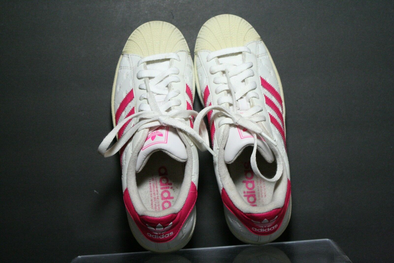 Adidas frauen superstar nestlö og 2004 frauen Adidas 7,5 multi - weiß - pinke trefoil athletic hip - hop 67e4c9