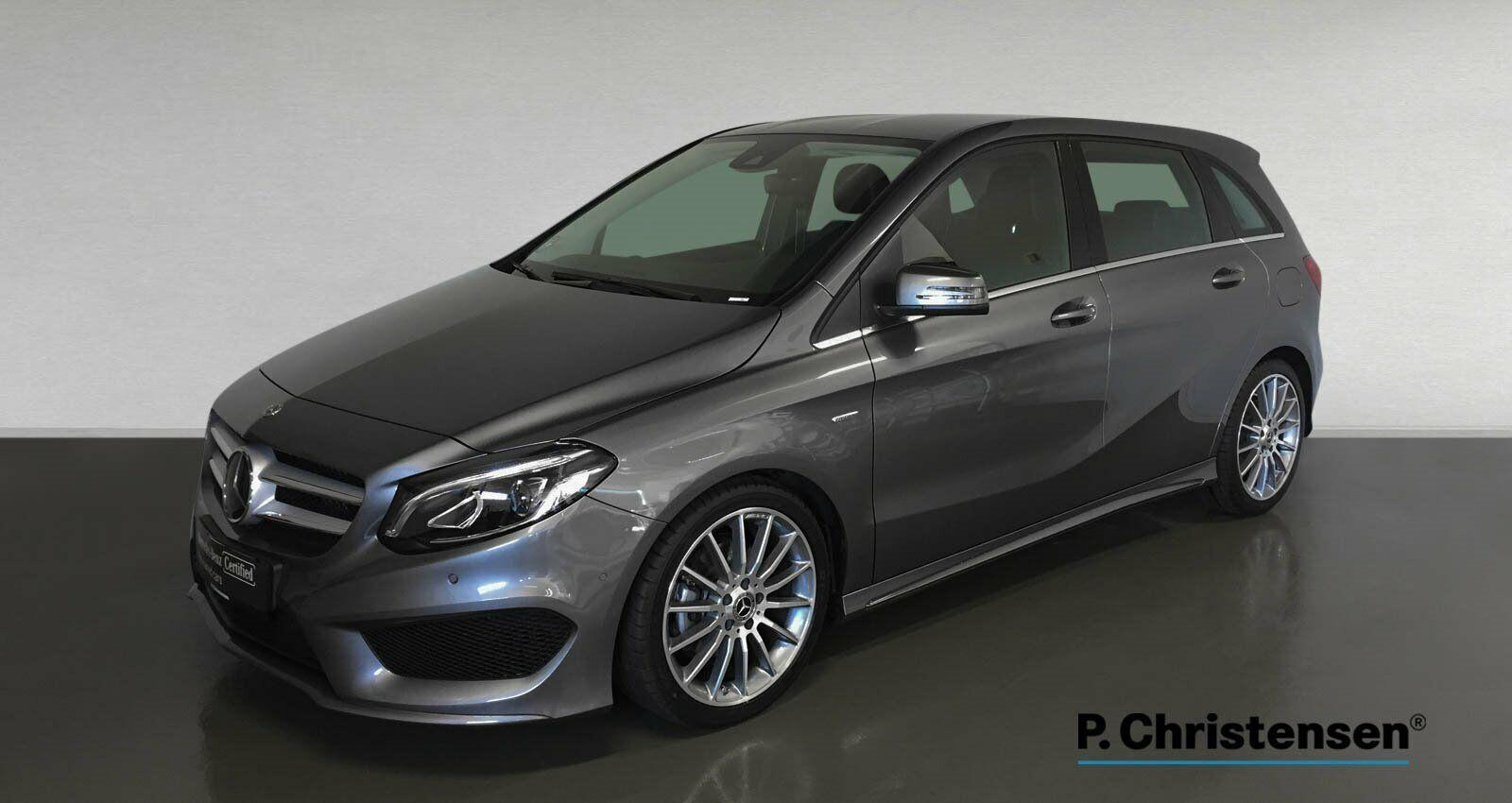 Mercedes B200 1,6 Final Edition aut. 5d - 334.900 kr.