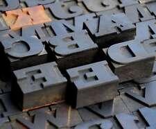 Letterpress Wood Printing Blocks 97 Pcs 106 Tall Wooden Type Woodtype Alphabet