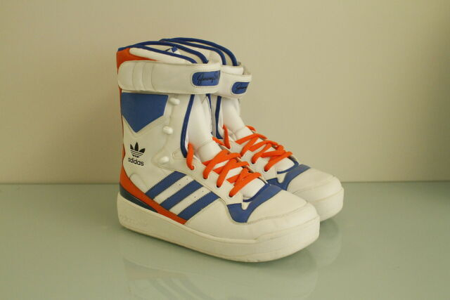 finest selection 39a9b 0f169 Adidas Obyo Jeremy Scott JS Snow Mismatch (R sz 9) (L sz 10) originals  G00935