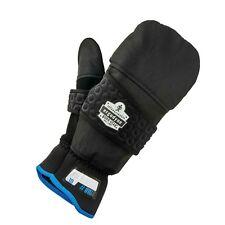 Ergodyne Proflex 816 Convertible Winter Work Gloves With Flip Top Mitten Black
