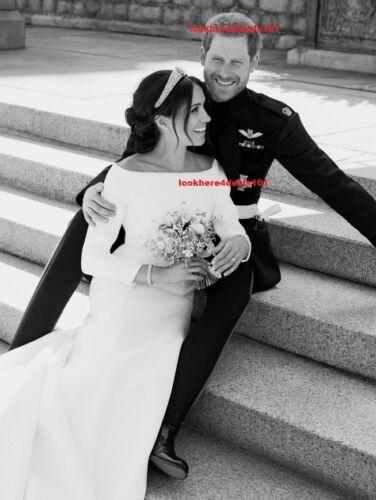 ROYAL WEDDING Photo 8x10 PRINCE HARRY MEGHAN MARKLE Official Royal Portrait