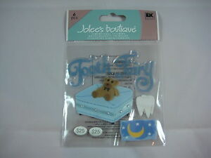 "Jolee/'s Boutique /""Girl Talk/"" 3 pcs Dimensional Stickers #T3"
