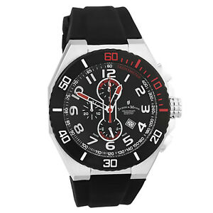 749431add420 La foto se está cargando Reloj-Cronografo-Jacques-Du-Manoir-para-hombre- Racing-