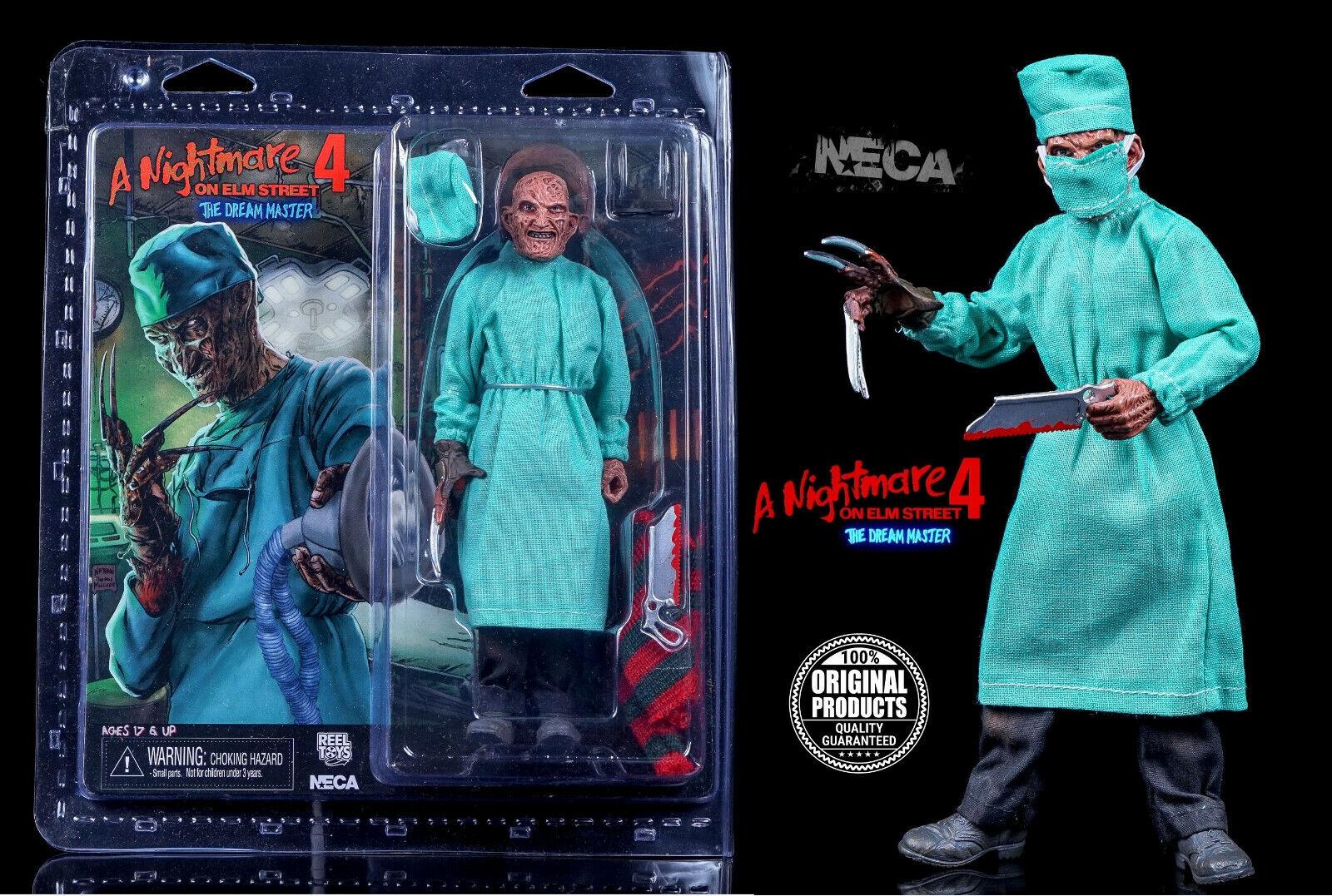 Neca Nightmare On Elm Street 4-8  Vestido Figura - Cirujano Frojody Krueger Caja
