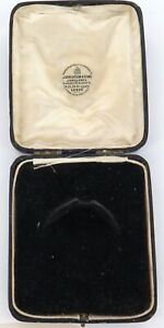 .EARLY 1900s ENGLISH POCKET WATCH NIGHT CASE / DISPLAY BOX. DYSON & SONS, LEEDS.