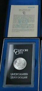 1882-CC-Carson-City-GSA-Morgan-Silver-Dollar-Box-COA-Uncirculated
