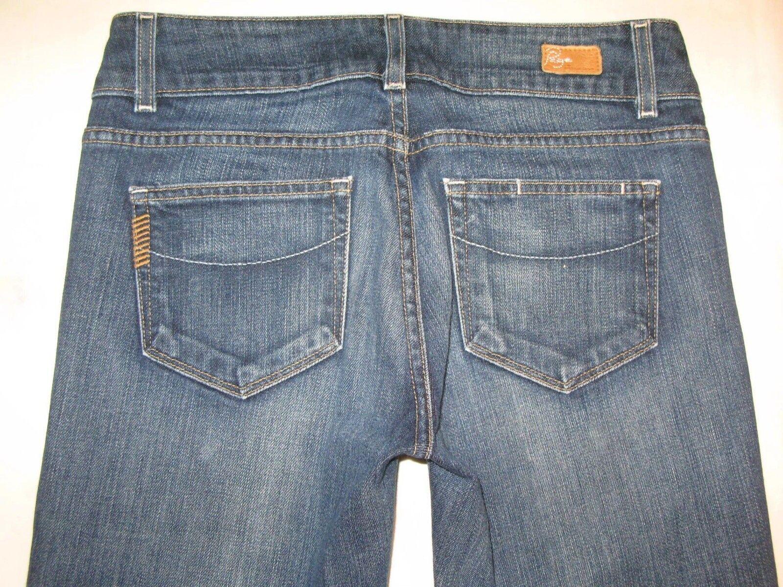 Paige Premium Jeans Hidden Hills High Rise Waist Boot Cut  Sz 28