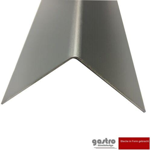 Alu Angle 80x80mm Aluminium Protection De Bord 1250 mm Aluwinkel Eckleiste L-Profil