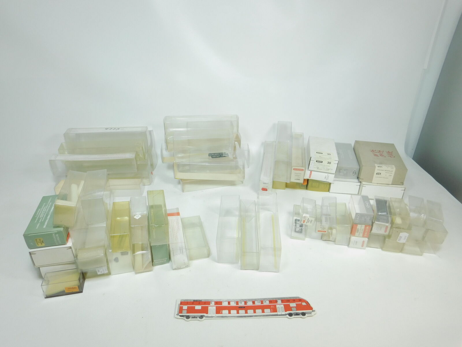 Bk125-3 X H0 klarsichtshülle RETAIL BOX EMPTY (Wiking, Roskopf Brekina etc. )