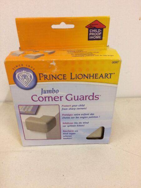 * Nouveau * Prince Lionheart Jumbo Coin Gardes Pack De 4 Matelassé Mousse Sécurité Bébé