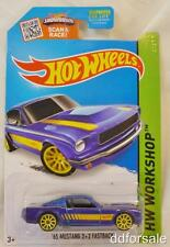 1965 Ford Mustang 2 + 2 1:64 Scale Diecast Model From HW Workshop by Hot Wheels
