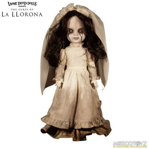 THE CURSE OF LA LLGoldNA - La LlGoldna Living Dead Dolls Mezco