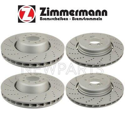 For BMW E60 E63 M5 M6 Zimmermann Formula Z Front Right Brake Disc 34112282806