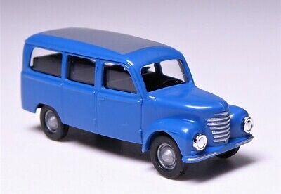 2 VEB Barkas Werke DDR # 8680 TT BUSCH Kastenwagen Bus Transporter Framo V 901