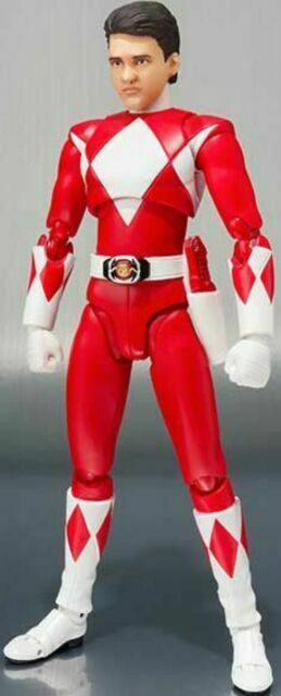 "In STOCK S.H Figuarts SDCC 2018 MMPR Power Rangers /""Red Ranger/"" Action Figure"