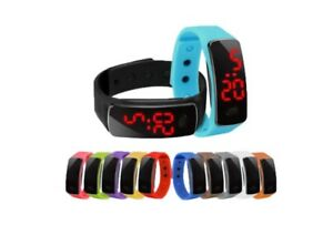 Kid-watch-LED-Silicone-Men-Wowen-Watch-Wrist-Sport-Digital-Water-Resistant-Watch