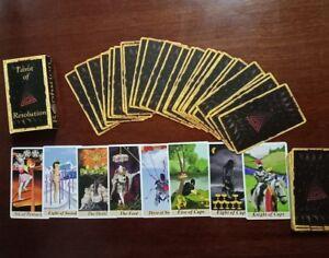 Tarot-Cards-Tarot-of-Resolution-Original-self-published-artist-039-s-edition