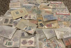 HUGE LOT OF U.S. STAMPS IN GLASSINES, GREAT COLLECTION FOR INVESTOR