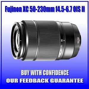 BRAND-NEW-Fujinon-Fujifilm-Fuji-XC-50-230mm-F4-5-6-7-OIS-II-Black-DHL-Express