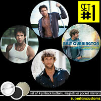 Billy Currington Set Of 4 Buttons Or Magnets Or Mirrors Pinback Badge Pins 1531