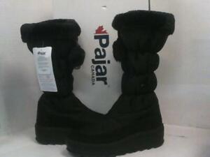 NEW Pajar Women's Toboggan 2.0 Iron Winter Boots sz 9-9.5 Black $211