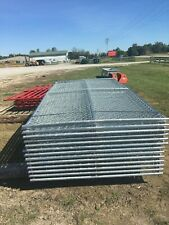 12 X 6 Chain Link Temp Construction Fence Panels Rent A Fence