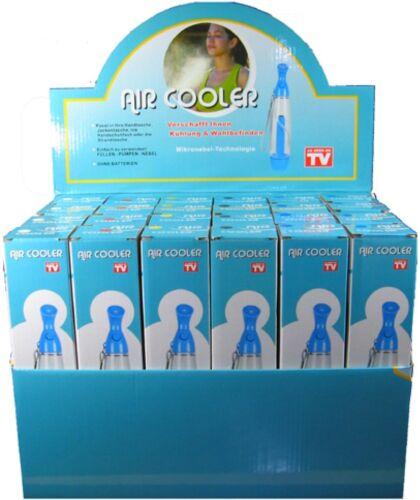 Wasserzerstäuber Erfrischungsspender Air Cooler Wassersprüher Zerstäuber schwarz