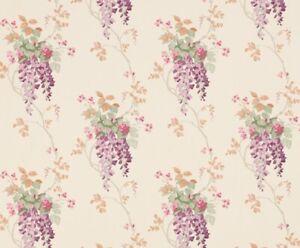 New Laura Ashley Honeysuckle Grape Purple Wallpaper Price Per Roll
