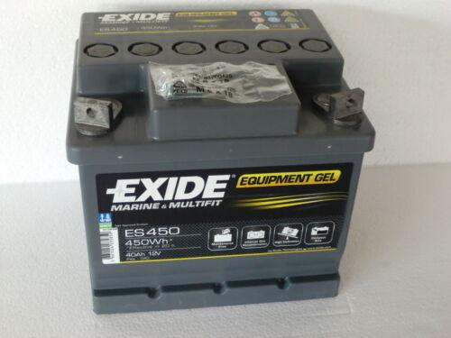 Exide gelbatterie 12v 40 ah 40ah es 450