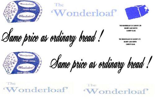 10 X wonderloaf Calcomanía waterslides ideal para los modelos de código 3 nuevo IE Dinky Lledo