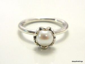 6d82e0f76 Image is loading NEW-TAGS-AUTHENTIC-PANDORA-RING-CULTURED-ELEGANCE-WHITE-