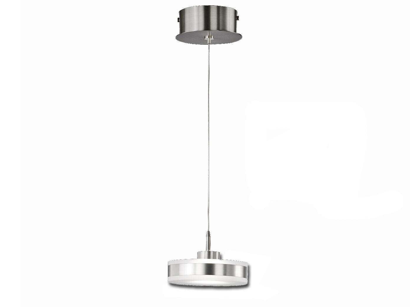 LED Hängelampe dimmbar höhenverstellbar Ø 14cm Design Leuchte Pendelleuchten