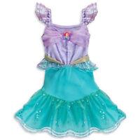 Disney Store Princess Ariel Little Mermaid Dress Up Costume 6-12 M