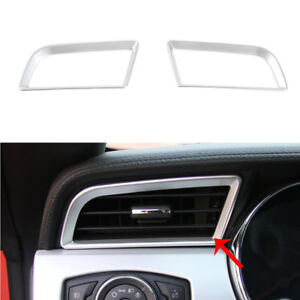 fit Ford Mustang 2015-2018 Red Car Inner Decoration Dashboard Console Vent Decor