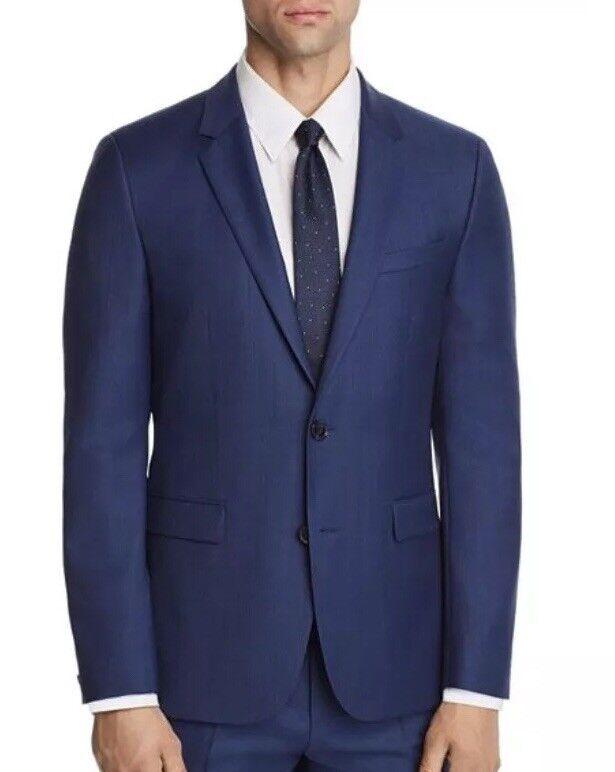 Hugo Boss Men's Slim Fit Wool Royal bluee Sport Coat Blazer 40S
