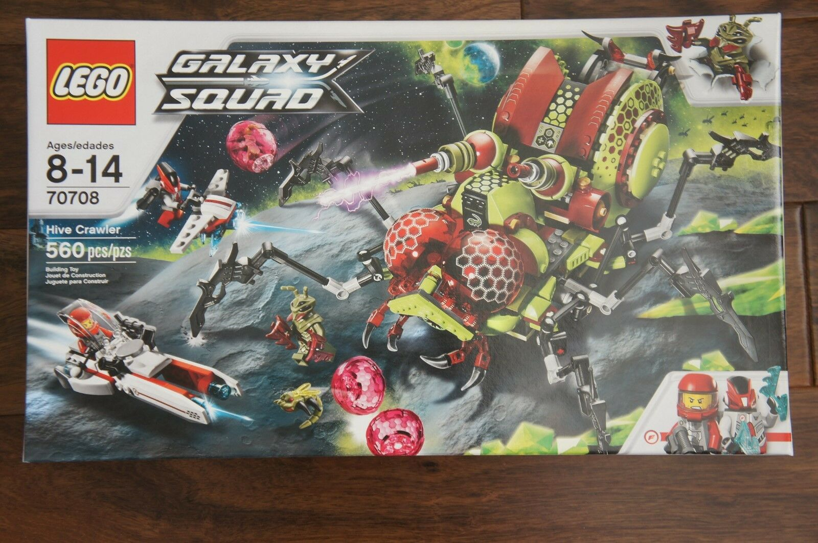 NEW NEW NEW LEGO Galaxy Squad Hive Crawler pcs RETIRED fc14e5