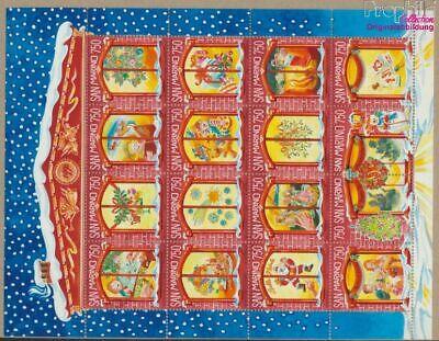 Postfrisch 1996 Weihnach kompl.ausg. 9305215 Gut FüR Antipyretika Und Hals-Schnuller Willensstark San Marino 1682-1697 Kleinbogen